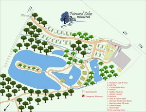 Fairwood Lakes Luxury Holiday Lodges Site Map